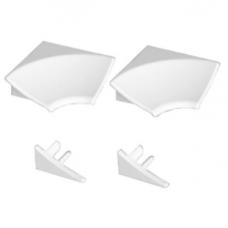 Набор декоративных планок Ravak 11 мм белый