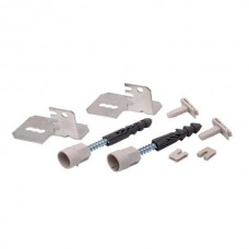 Настенный крепеж для стальных панельных радиаторов (комплект)