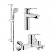 Набор смесителей Grohe BauLoop 123214 (23337000+32815000+27598000) для ванны