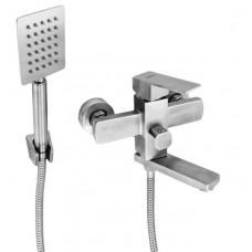 Смеситель для ванны Gerts 7105 нержавеющая сталь