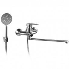 Смеситель для ванны Gerts 7505 нержавеющая сталь