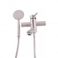Смеситель для ванны KRONER (KRP) Edelstahl Klassisch-ESG060 с душевым гарнитуром