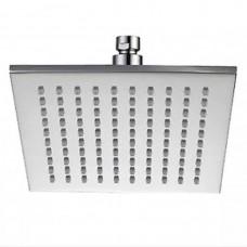 Лейка для душа Gerts HDF0110 тропический душ, квадратная 25х25 нержавеющая сталь