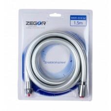Шланг для душа Zegor WKR-014 lxl 1.5 м силиконовый