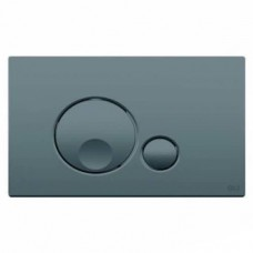Кнопка смыва Oli Globe Soft-touch 3/6, серая (152953)