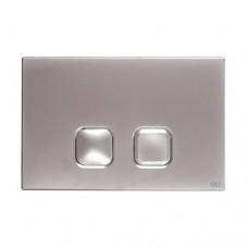 Кнопка смыва Oli Plain 3/6, хром матовый (070828/135971)