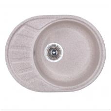 Кухонная гранитная мойка Fosto 58*45 песок