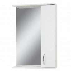 Зеркало Сансервис ZL-55 со шкафом, белое, правое