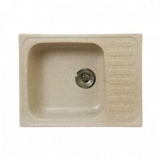 Кухонная гранитная мойка FOSTO 64x49 SGA-800 (персик)