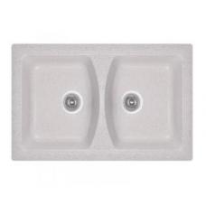 Кухонная гранитная мойка Fosto прямоугольная (790x500 мм)
