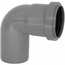 Колено канализационное внутреннее 40 мм 90°