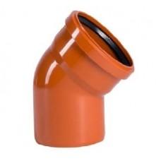 Колено 160/45 наружной канализации