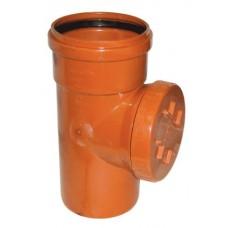 Ревизия 110 наружной канализации
