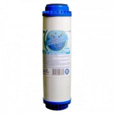 Картридж Aquafilter FCCBKDF2 умягчающий из гранулированного активированного угля и KDF