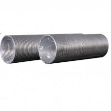 Воздуховод гофрированный алюминиевый ф 100