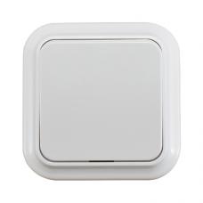 Выключатель 1-клавишный белый (А1 6-131)