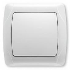 Выключатель 1-клавишный VIKO белый