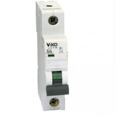 Автоматический выключатель однополюсный Viko, 1P, C, 25A, 4,5kA