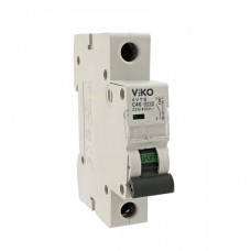 Автоматический выключатель VIKO 1P 40A 4.5кА 230/400В тип С