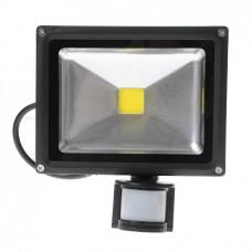 Прожектор уличный 20W с датчиком движения