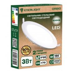 Потолочный светильник Enerlight Orbio 3 Вт 4000К