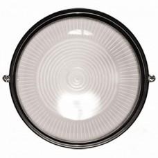 Светильник круглый 60Вт (черный)