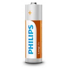 Батарейка Philips Long Life AA BL 4