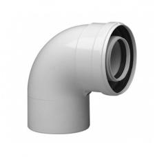Коаксиальный отвод 90° BAXI 60/100, HT