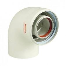 Коаксиальное колено Immergas 90°, 60/100 мм